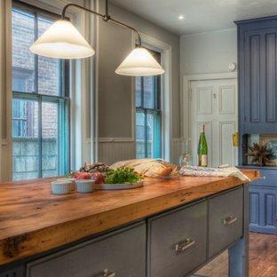 Comptoir de cuisine en bois