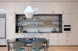 Armoires de cuisine minimaliste
