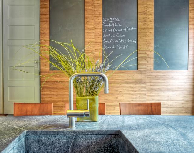 Comptoir de cuisine écologique
