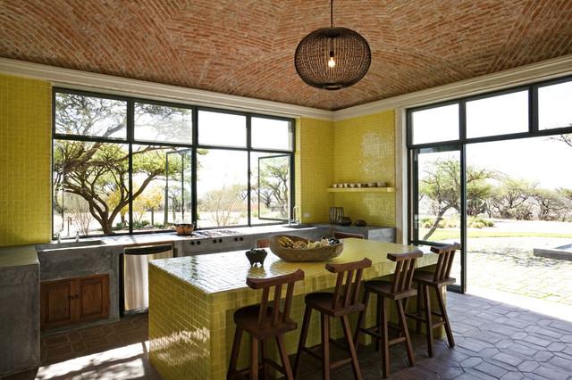 Comptoir de cuisine en céramique