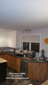 Resurfaçage d'armoires de cuisine