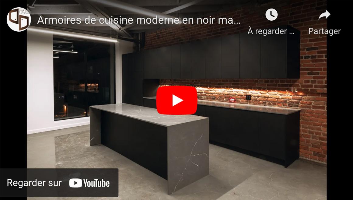Armoires de cuisine moderne
